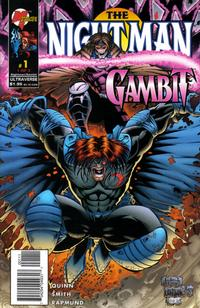 Cover Thumbnail for The Night Man / Gambit (Marvel, 1996 series) #1 [Dietrich Cover]
