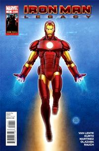 Cover Thumbnail for Iron Man: Legacy (Marvel, 2010 series) #1