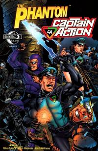 Cover Thumbnail for The Phantom - Captain Action (Moonstone, 2010 series) #2 [Cover A]