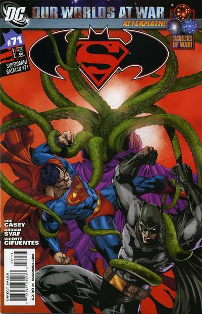 Cover for Superman / Batman (DC, 2003 series) #71