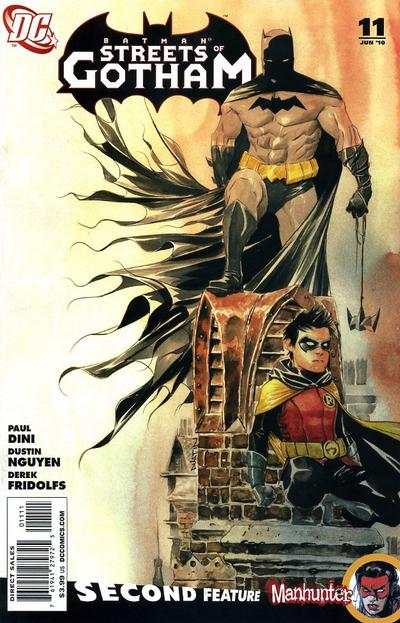 Cover for Batman: Streets of Gotham (DC, 2009 series) #11