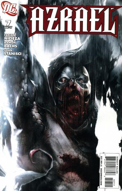Cover for Azrael (DC, 2009 series) #7