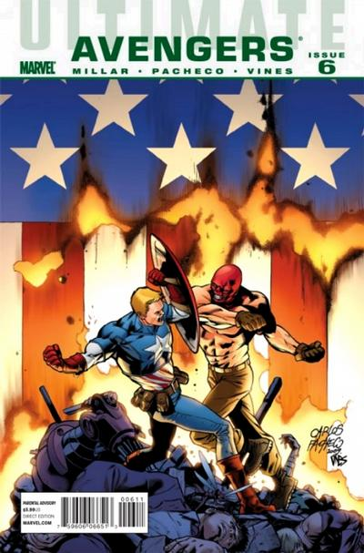 Cover for Ultimate Avengers (Marvel, 2009 series) #6
