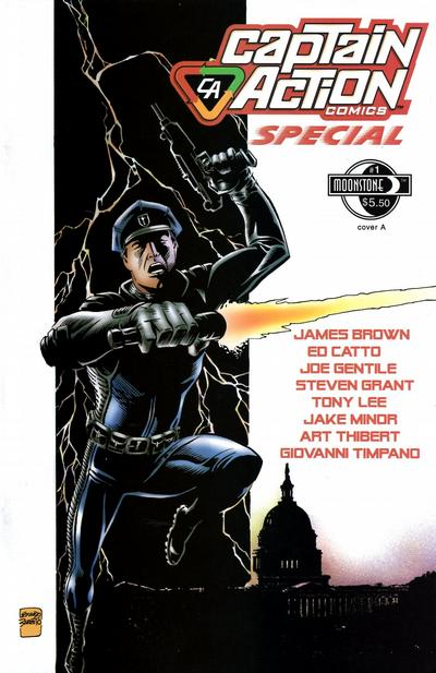 Cover for Captain Action Comics Special (Moonstone, 2010 series) #1 [Cover A]