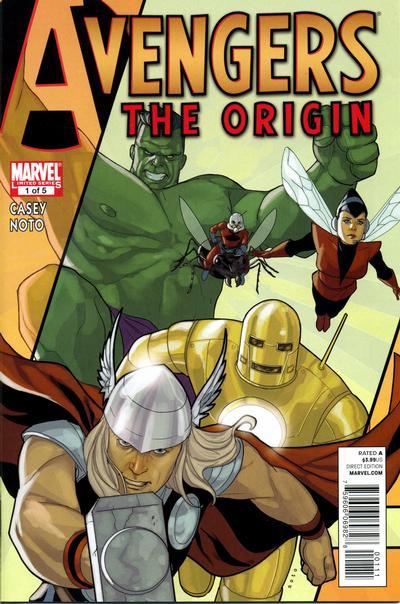 Cover for Avengers: The Origin (Marvel, 2010 series) #1