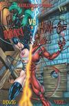 Cover for Venus Domina vs. Akuma-She (Verotik, 2001 series)