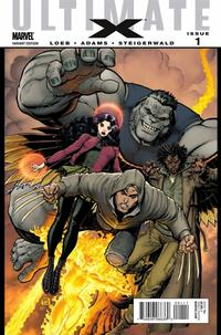 Cover Thumbnail for Ultimate X (Marvel, 2010 series) #1 [Variant Edition - Team - Bone Claws]