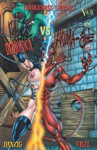 Cover Thumbnail for Venus Domina vs. Akuma-She (Verotik, 2001 series)