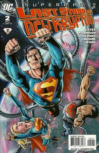 Cover Thumbnail for Superman: Last Stand of New Krypton (DC, 2010 series) #2 [1:25 Variant]