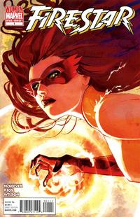 Cover Thumbnail for Firestar (Marvel, 2010 series) #1