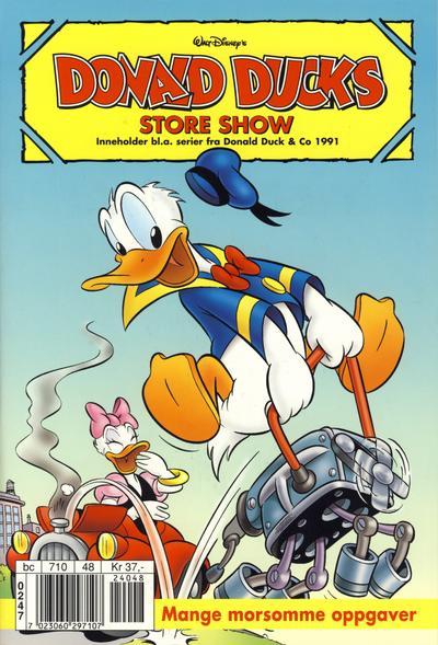 Cover for Donald Ducks Show (Hjemmet / Egmont, 1957 series) #[110] - Store show 2002