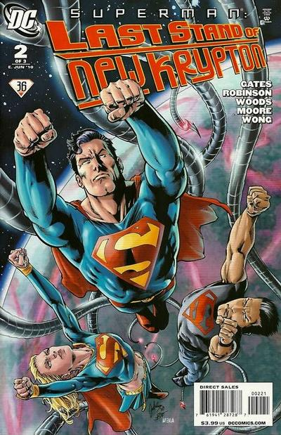 Cover for Superman: Last Stand of New Krypton (DC, 2010 series) #2 [1:25 Variant]
