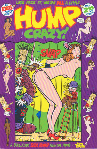 Cover for Hump Crazy (Fantagraphics, 1995 series) #[nn]