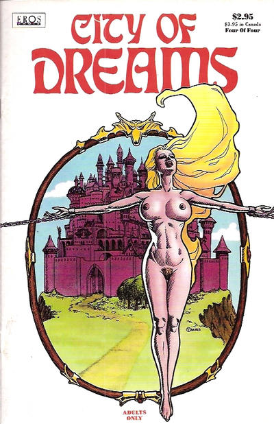 Cover for City of Dreams (Fantagraphics, 1994 series) #4