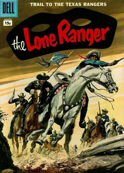 Cover for The Lone Ranger (Dell, 1948 series) #105 [10 cent cover price]