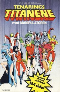 Cover Thumbnail for Tenårings-titanene (Semic, 1984 series) #2/1984