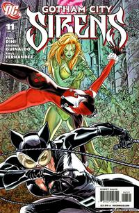 Cover Thumbnail for Gotham City Sirens (DC, 2009 series) #11