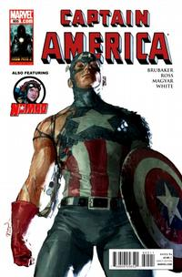 Cover Thumbnail for Captain America (Marvel, 2005 series) #605 [Direct Edition]