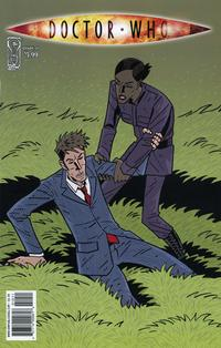 Cover Thumbnail for Doctor Who (IDW, 2009 series) #10 [Regular Cover]