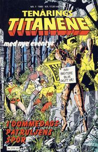 Cover Thumbnail for Tenårings-titanene (Semic, 1984 series) #1/1985