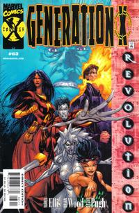 Cover for Generation X (Marvel, 1994 series) #63 [Variant Edition]
