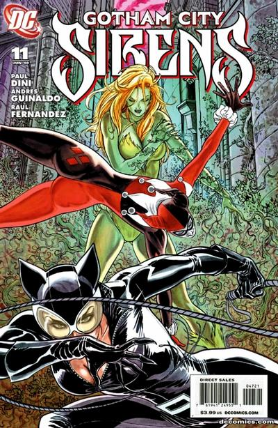 Cover for Gotham City Sirens (DC, 2009 series) #11