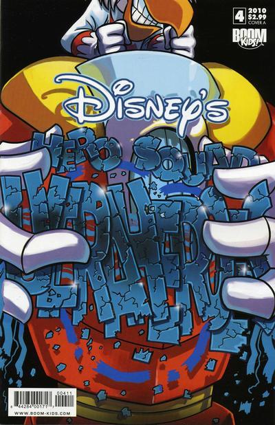 Cover for Disney's Hero Squad (Boom! Studios, 2010 series) #4 [Cover A]