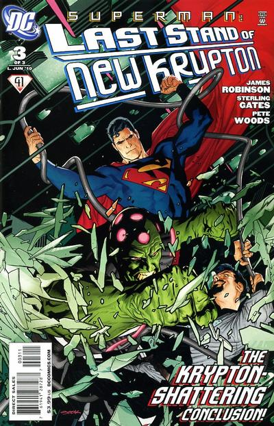 Cover for Superman: Last Stand of New Krypton (DC, 2010 series) #3 [1:25 Variant]