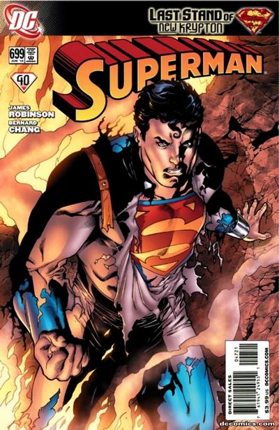 Cover for Superman (DC, 2006 series) #699