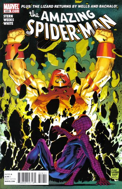 Cover for The Amazing Spider-Man (Marvel, 1999 series) #629