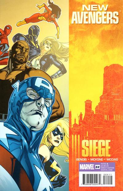Cover for New Avengers (Marvel, 2005 series) #64