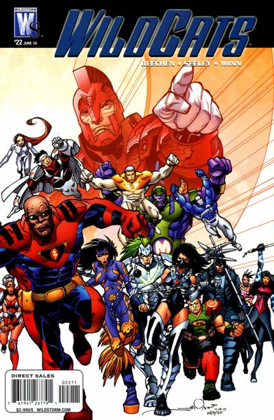 Cover for Wildcats (DC, 2008 series) #22