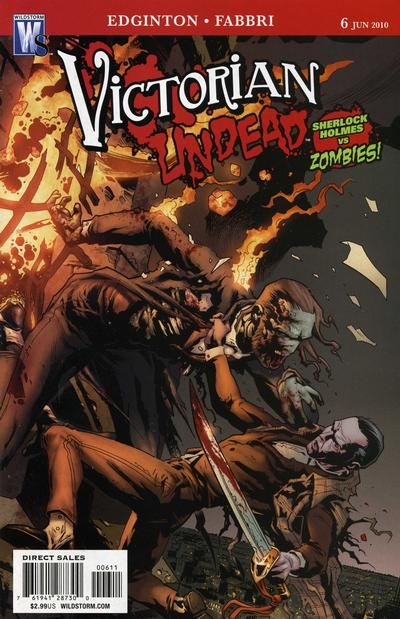 Cover for Victorian Undead (DC, 2010 series) #6