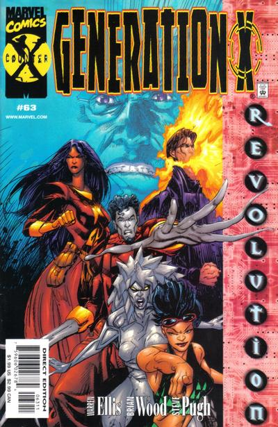 Cover for Generation X (Marvel, 1994 series) #63 [Direct Edition]