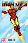 Cover for Invincible Iron Man (Marvel, 2008 series) #25 [Variant Edition - Herb Trimpe]