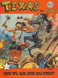 Cover Thumbnail for Texas med Sheriff (Serieforlaget / Se-Bladene / Stabenfeldt, 1976 series) #6/1976
