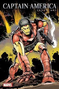 Cover Thumbnail for Captain America (Marvel, 2005 series) #605 [Joe Kubert Iron Man Variant]