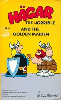 Cover Thumbnail for Hägar the Horrible and the Golden Maiden (Tor Books, 1982 series) #49-046-1