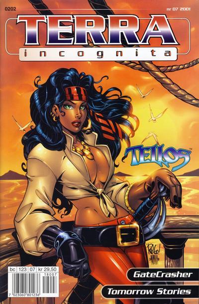 Cover for Terra Incognita (Bladkompaniet / Schibsted, 2001 series) #7/2001