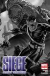 Cover Thumbnail for Siege: Secret Warriors (2010 series) #1 [black and white variant]