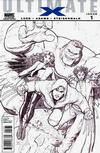 Cover for Ultimate X (Marvel, 2010 series) #1 [Variant Edition - Team Black-and-White]