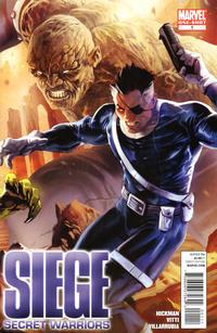 Cover Thumbnail for Siege: Secret Warriors (Marvel, 2010 series) #1