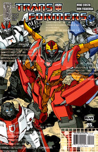Cover Thumbnail for The Transformers (IDW, 2009 series) #2 [Cover A]