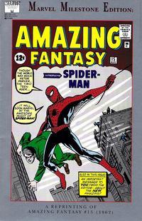 Cover Thumbnail for Marvel Milestone Edition: Amazing Fantasy #15 (Marvel, 1992 series)