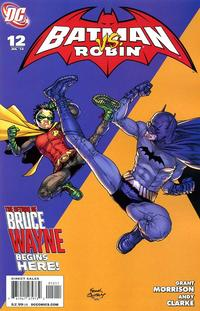 Cover Thumbnail for Batman and Robin (DC, 2009 series) #12