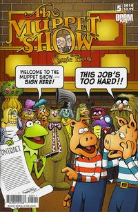 Cover Thumbnail for The Muppet Show: The Comic Book (Boom! Studios, 2009 series) #5