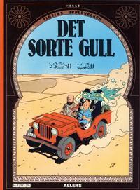 Cover Thumbnail for Tintins opplevelser (Allers Forlag, 1978 series) #5 - Det sorte gull