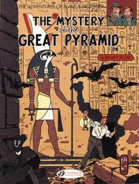 Cover Thumbnail for The Adventures of Blake & Mortimer (Cinebook, 2007 series) #2 - The Mystery of the Great Pyramid