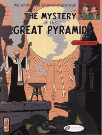 Cover Thumbnail for The Adventures of Blake & Mortimer (Cinebook, 2007 series) #3 - The Mystery of the Great Pyramid Part II