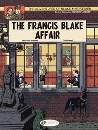 Cover Thumbnail for The Adventures of Blake & Mortimer (Cinebook, 2007 series) #4 - The Francis Blake Affair